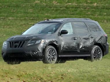 Nissan Pathfinder 2013 упразднил рамную конструкцию